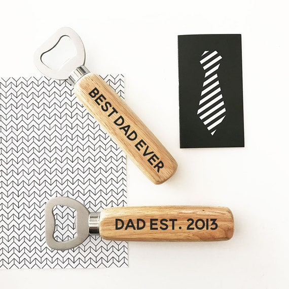 Personalized Gift For Dad Fathers Day Birthday From Daughter Son Bottle Opener EB3247P