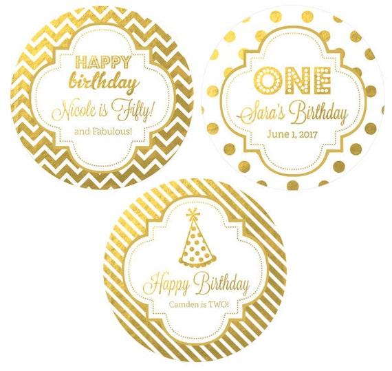 personalized birthday sticker 1st birthday labels happy birthday