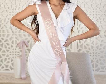 Bridal Shower Sash - Bridal Shower Decor - Bachelorette Party Sash Bride to Be Sash Bachelorette Sash Bride Sash Bride Gift (EB3172BRD)