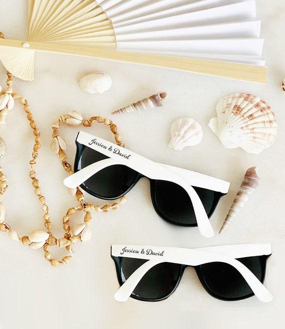 Beach Wedding Favors: Beach Wedding Favors Sunglasses Custom Sunglasses For