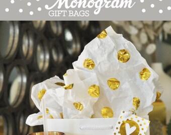 Sacs-cadeaux de demoiselle d'honneur pour les demoiselles d'honneur demoiselle d'honneur sacs-cadeaux pour mariage invités cadeau fête nuptiale SACS fille fleur (EB3131M) lot de 6 sacs