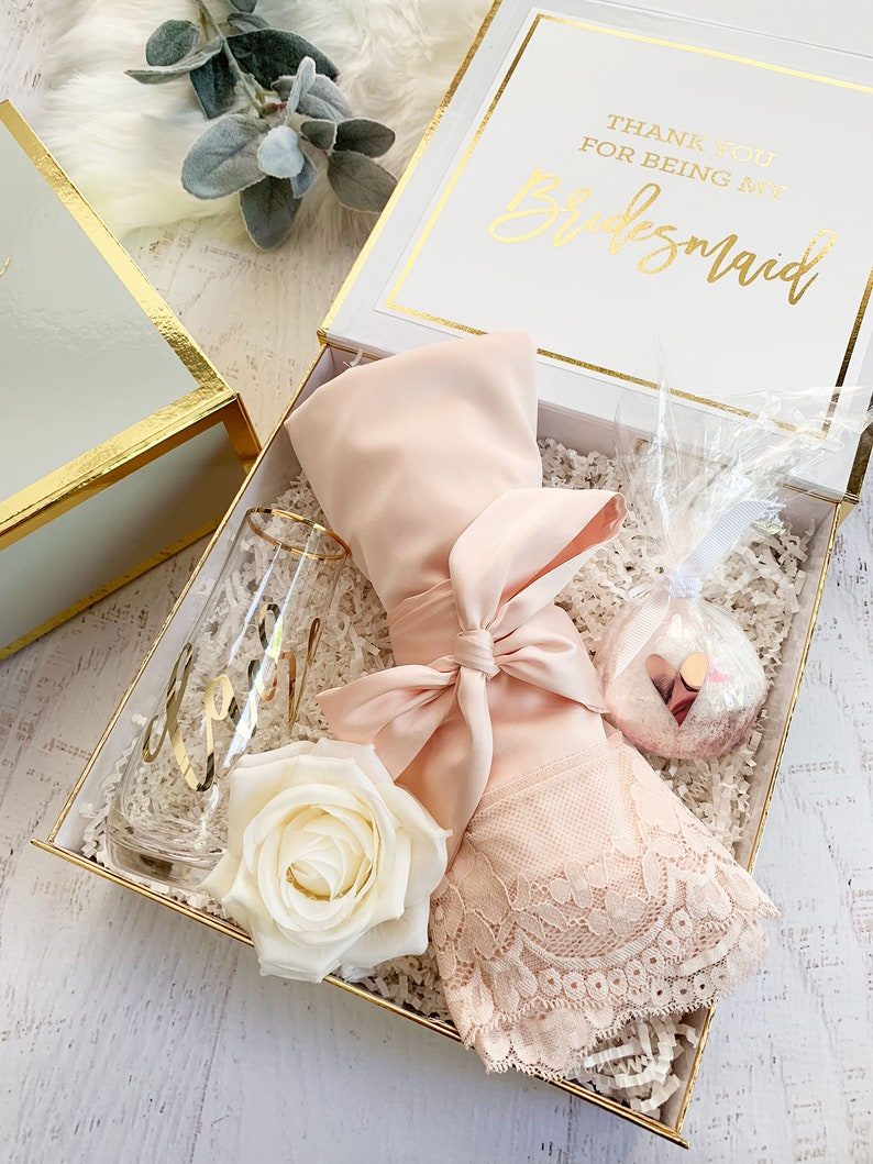 Bridesmaid Box Gifts Bride Gift Box Bridal Party Box Diy Personalized Bridesmaid Gift Box Set Eb3171bpw Bridesmaid Proposal Box Empty