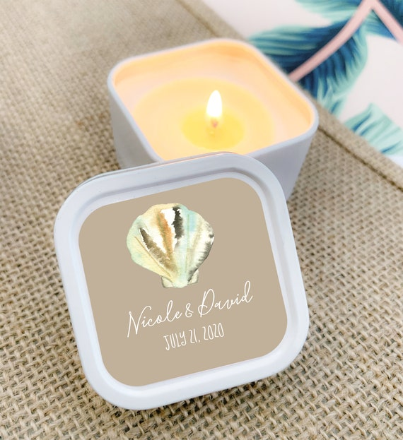 candles as wedding decor united with love.htm beach wedding favor ideas beach theme wedding favors beach etsy  beach wedding favor ideas beach theme