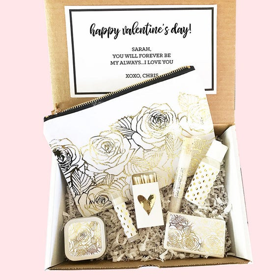 Valentines Gift Basket Valentines Day Gift Sets For Women Personalized Valentines Day Gift For Wife Girlfriend Friends Eb3231spa By Mod Party Catch My Party