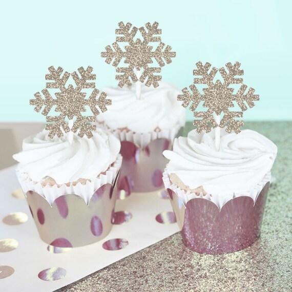 Snowflake Wedding Cake Topper Snowflake Wedding Decorations | Etsy