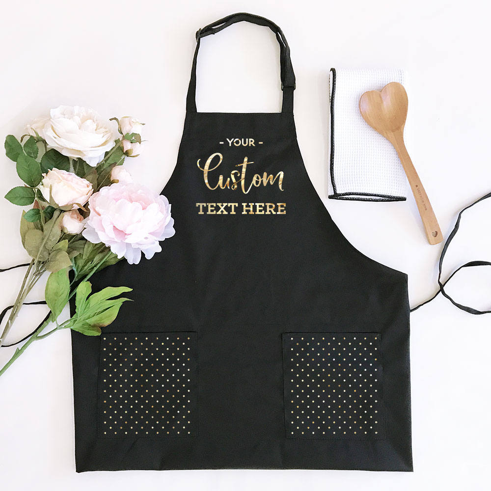 personalized apron for womens aprons personalized custom etsy. Black Bedroom Furniture Sets. Home Design Ideas