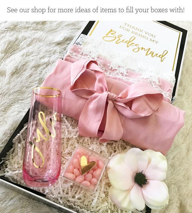 Bridesmaid Proposal Bridesmaid Box Will You Be My Bridesmaid Gift
