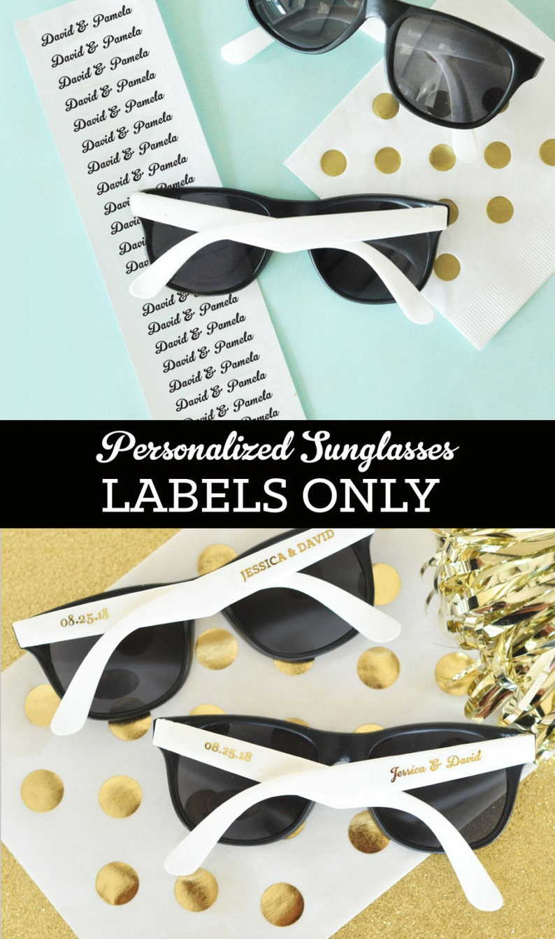 Clear Personalized Labels For Glasses