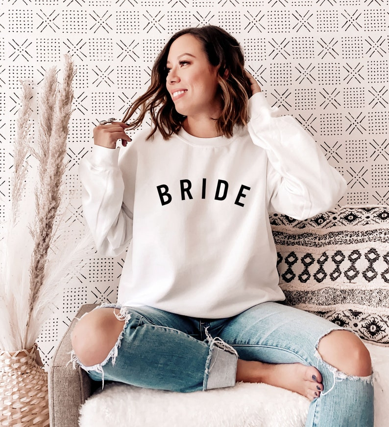 Bride Sweatshirt Winter Gift for Bride Holiday Gift Ideas for image 0