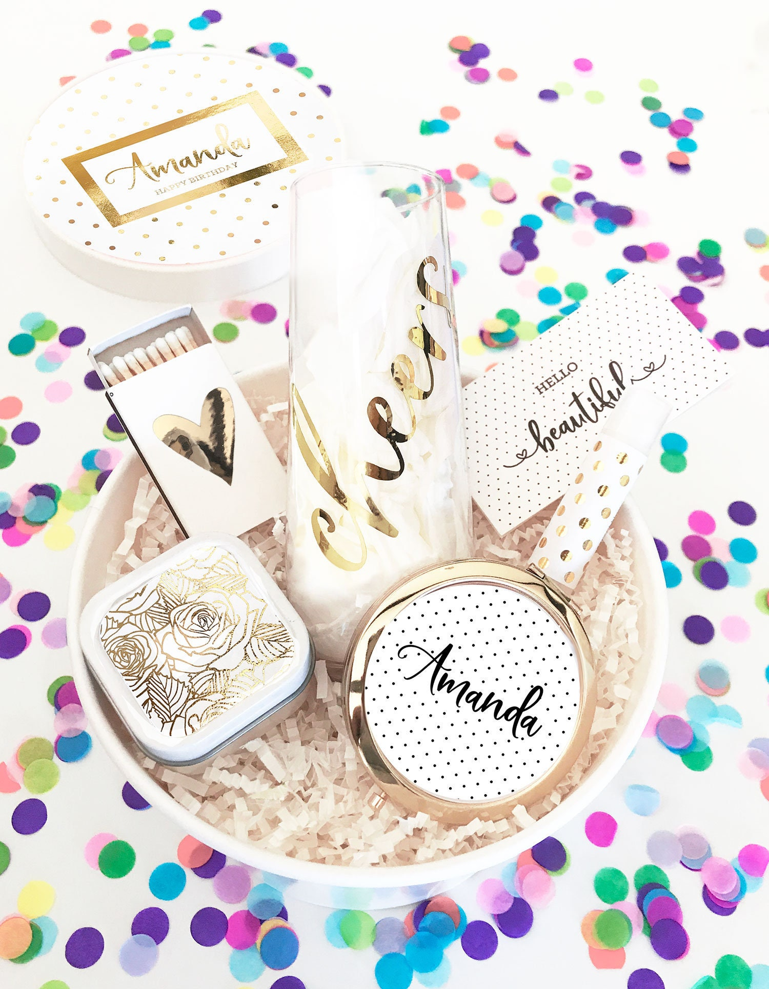 Birthday Gift Box For Her Happy Basket Send
