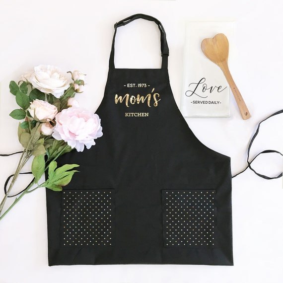 Mothers Day Custom Apron