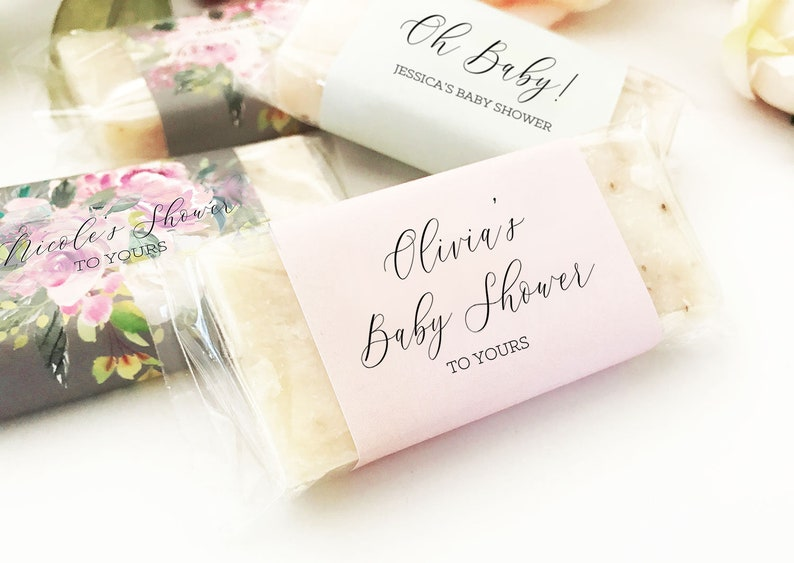 Baby Shower Soap Favors Baby Shower Favor Soaps Unique Baby Etsy