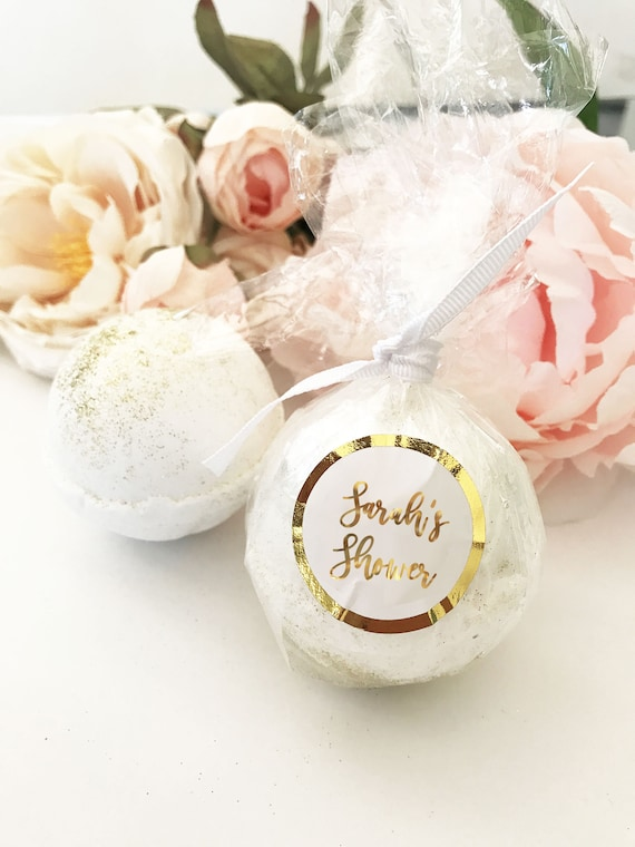 Wedding Party Gift Jasmine Bridal Shower Favors 12 Bath Bombs Wholesale Spa Birthday Party Gold Baby Shower Favors Party Favors