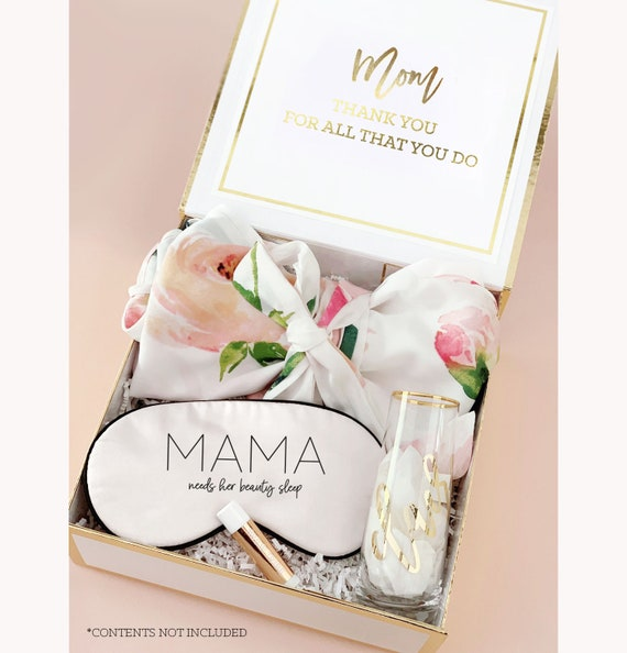 Personalized Gift For Mom Personalized Mom Christmas Gift Box Etsy