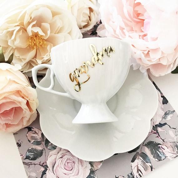 Grandma Tea Cup
