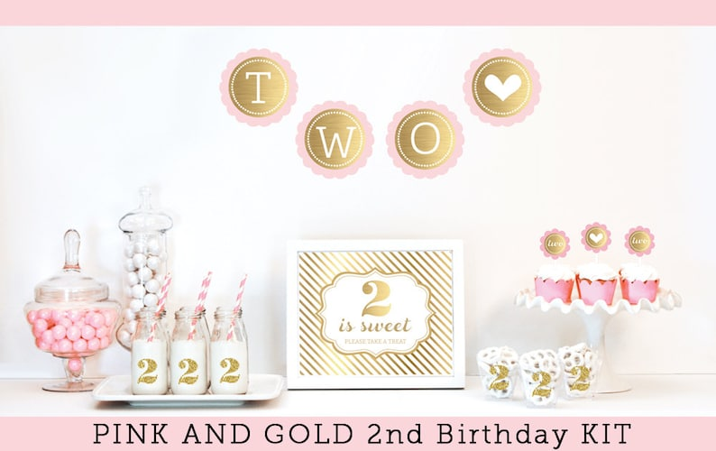 2nd Birthday Girl Party Decorations