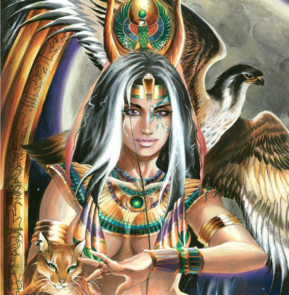 The Priestess By Fantasy Artist Ruth Thompson Soden