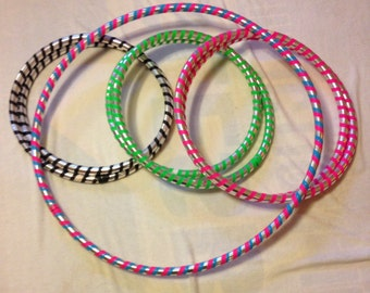 Adult 1 lb Light Weight Hula Hoops Great for Hoop Dance  Off- Body Moves and Fitness Stylish Travel Carrying