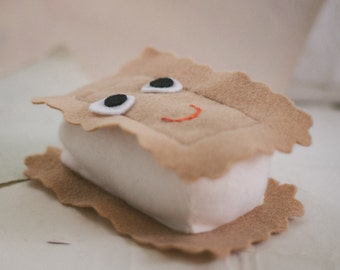 Felt Ice Cream Sandwich