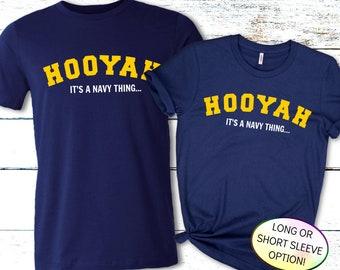 HOOYAH Navy Shirt, Navy Pride Shirt, Proud Navy Mom Shirt, Proud Navy Dad Shirt, Navy PIR Shirt, Navy Boot Camp Graduation Shirt