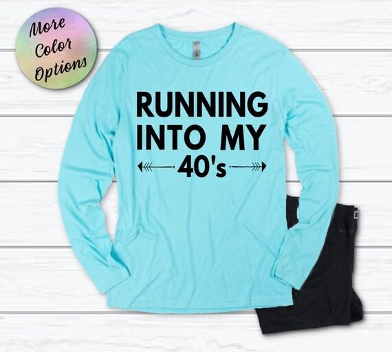 60th Birthday Running Shirt Running into my 60/'s Running Shirt Group Running Shirt Motivational Running Tank Gift for Runner Marathon T
