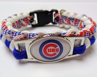 Chicago Cubs Paracord Bracelet