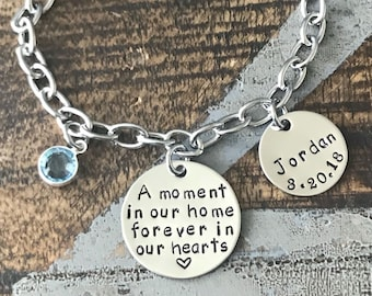 New Foster Parent Bracelet Foster parent jewelry Foster Family gift Foster Parent Gift Foster Mom gift Foster care jewelry Guardian Parent