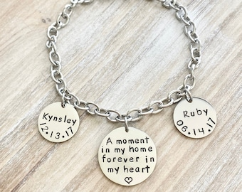 Foster Parent Bracelet Foster parent jewelry Foster Family gift Foster Parent Gift Foster Mom gift Foster care jewelry Guardian Parent Gift