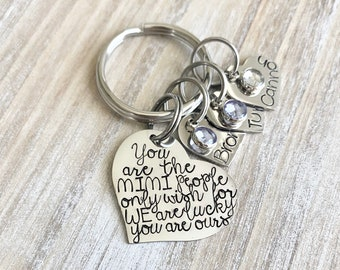 Mimi Keychain, Mothers day gift, Mothers Day Keyring, Nana Keychain, Nanna keyring, Nana Gift, Nanna Gift, Grandma Gift, Gran, Auntie Gift