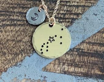 Zodiac Jewelry Gold Constellation Necklace Zodiac Necklace Celestial Jewelry Pisces Necklace Gift for her Zodiac Gift Pisces Jewelry