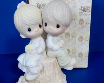 1976 Love One Another Retired Precious Moments Figurine