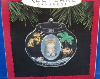 1994 Special Cat Hallmark Retired Ornament