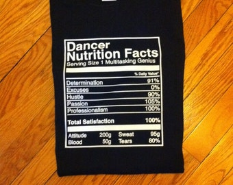 Sweet Sixteen Nutrition Facts Label For Custom Chip Treat