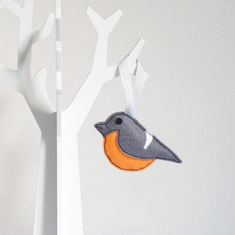Gil Filcu Dekoracji Cute Ptak Wiszące Dekoracji Wiosna Etsy