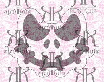 Skull Character Fondant Cutter