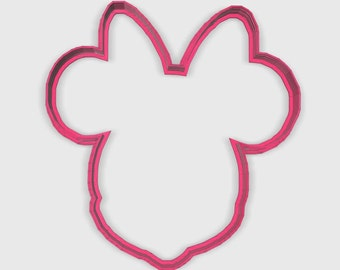 Girl Mouse Character Cookie Cutter