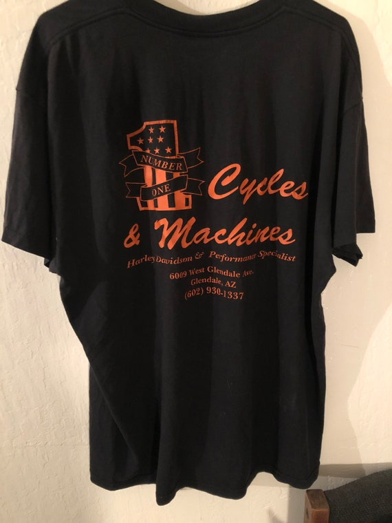 1980s Harley performance specialist t shirt