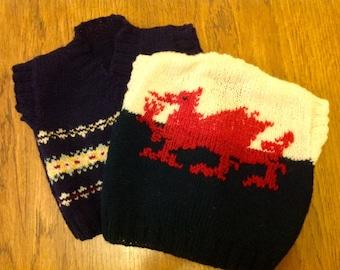 Baby Fair isle knitwear - Sleeveless pullover