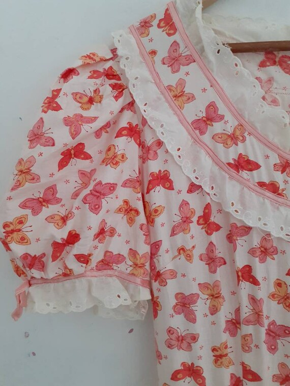 Vintage cotton prairie dress