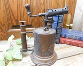 Vintage Turner 39 s Old Reliable Brass Blow Torch Welding Tool - Chicago