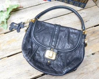ef7ee01db9 Beautiful Vintage Juicy Couture Leather Hobo Purse