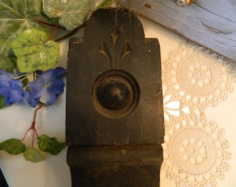 Vintage Architectural Salvage Wood Decorator Piece