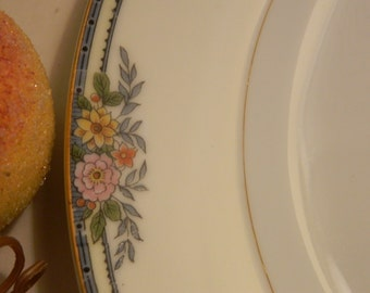 "Set of 6 Vintage Noritake Croydon 10"" Dinner Plates"
