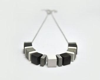 Concrete Jewelry | Concrete Necklace | Cement Jewelry | Contemporary necklace | Geometric pendant | Modern Jewelry | Minimalist Jewelry