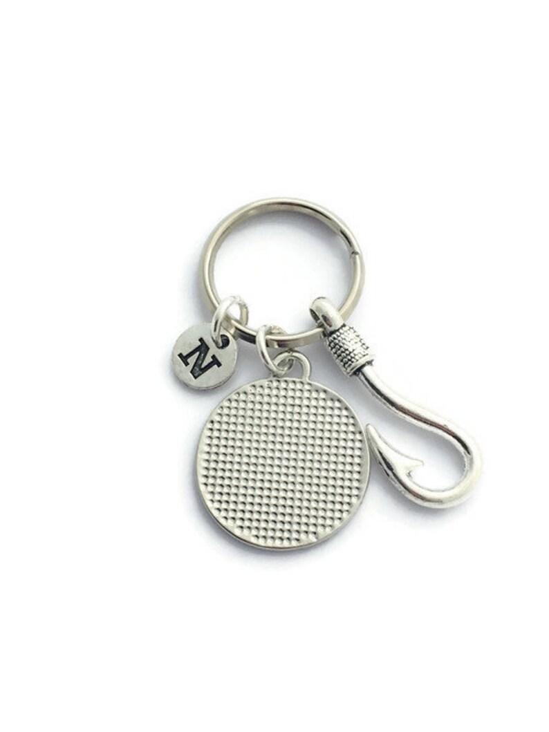Silver Fish Hook Key Ring You\u2019re My Best Catch Keyring Fianc\u00e9s Birthday Boyfriend Gift Fishing Gift for Husband Fish Hook Keychain
