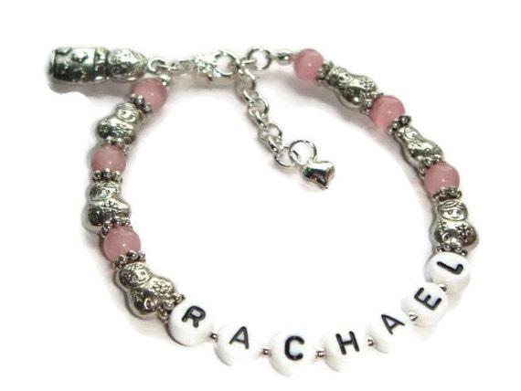 Personalized Bracelet Name Bracelet Children S Jewelry Etsy