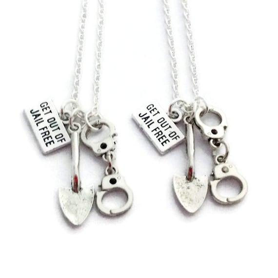 d3e35d8d05 2 Best Friend Necklaces Friendship Jewelry Pair of   Etsy