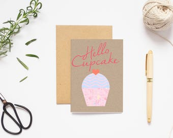 A6 VALENTINE'S DAY CARD,rustic floral watercolour peony gold glitter kraft greeting card handmade luxury paper print with matching envelope