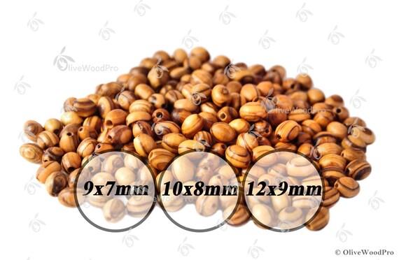 Bois d/'olivier 12 mm perles rondes en bois Perles JERUSALEM TERRE SAINTE