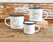 Baby Shower Gift, Mom and Dad Mugs, Gifts for New Dad and Mommy, Maternity Photo Shoot, New Parents Gift, Easter Baby Gift
